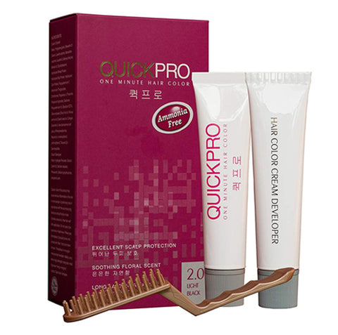 QuickPro 1 min Hair Colour - Light black