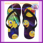 Juicy Judy Productions Flip Flops Collection | Juicy Judy Emoji Delique Flip Flops /