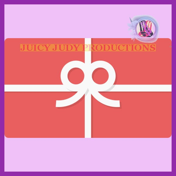 Juicy Judy Gift Card | Juicy Judy Productions | Gift Card / juicy-judy-productions-gift-card-wichita-kansas - $10.00: