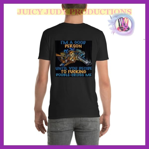 Juicy Judy productions Short Sleeve T-Shirt | Juicy Judy Short-Sleeve T-Shirt / juicy-judy-short-sleeve-t-shirt-productions-wichita-kansas -