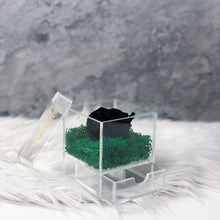 Infinity Black Rose in a Box - Comme Le Verre Une in Black