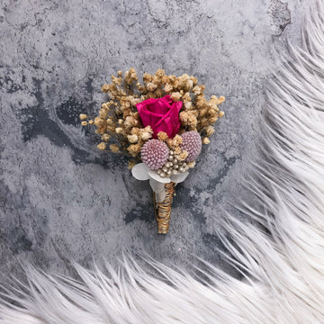 Rose Hair Clip Online - Boutonnieres