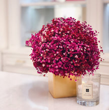 Long Lasting Pink Baby's Breath in a Vase in Hyderabad