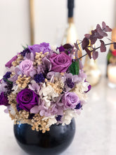 Long Lasting Purple Flowers in a Vase in Hyderabad - Vase et Fleur - Purple Jardin