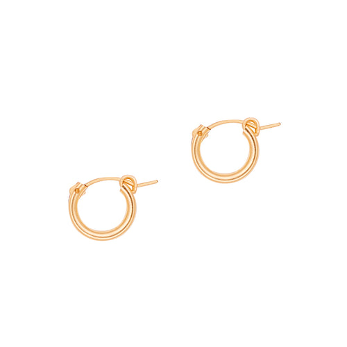 Calla Small Hoops