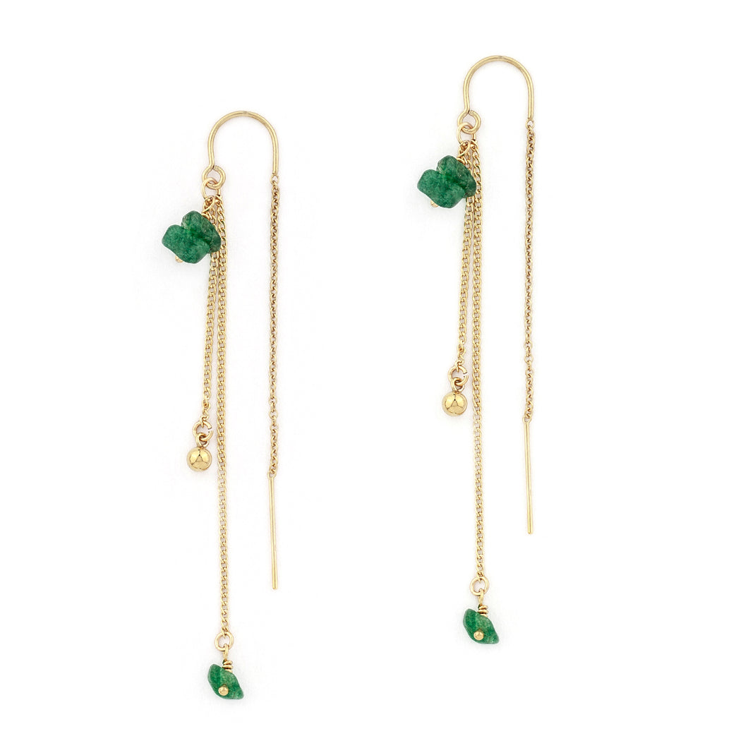Marabel Emerald Earrings