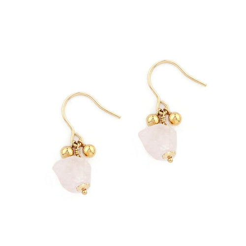 Tegan Pink Moon Earrings