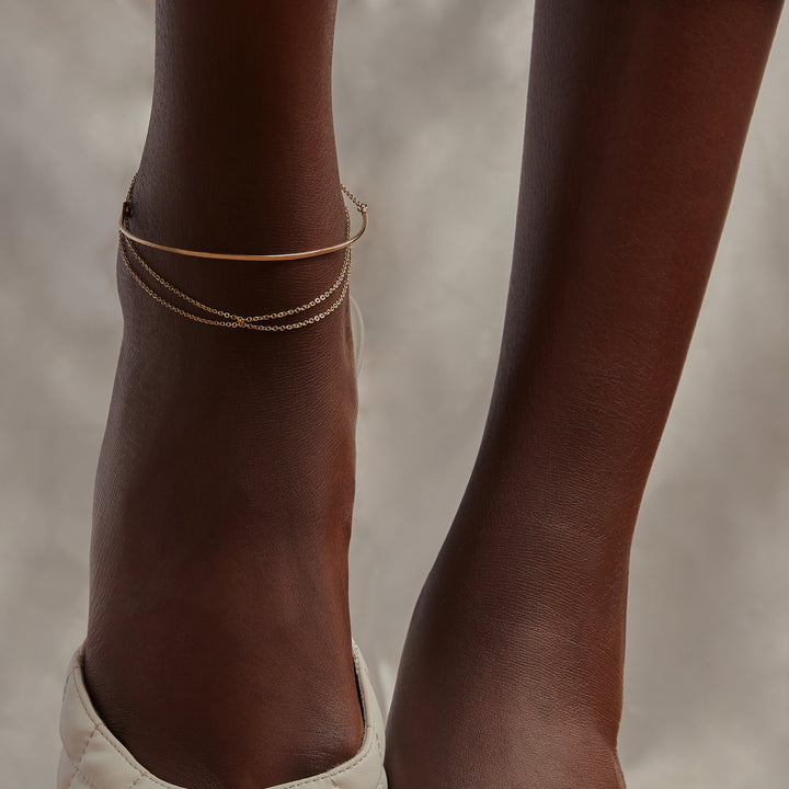Twist Chain Anklet