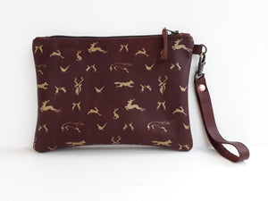 Field & Feather Leather Purse - Coterie Leather Bags