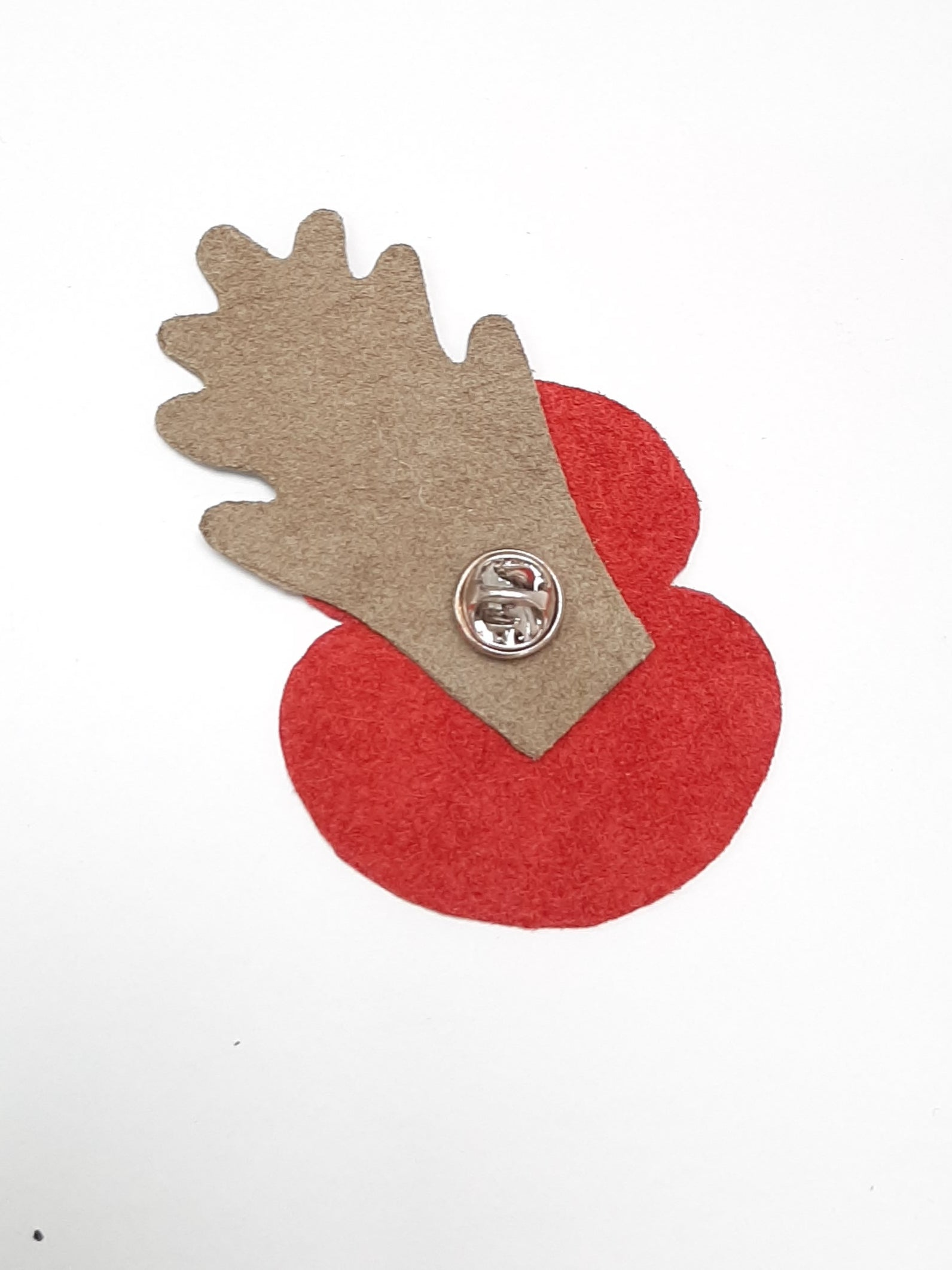 Remembrance Day Leather Poppy - Coterie Leather Bags