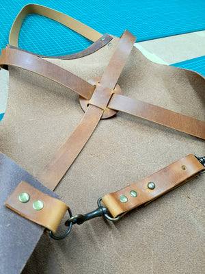 Leather Apron Workshop - learn to strap cut