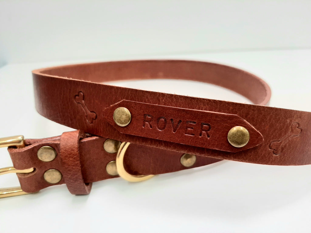 Personalised Dog Collar Workshop - Coterie Leather Bags