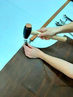 Leather Apron Workshop  - leather skills