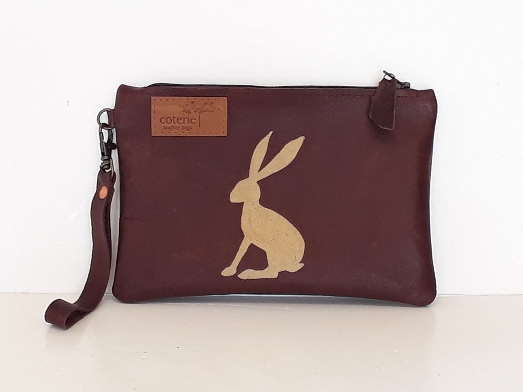 Golden Hare Leather Purse - Coterie Leather Bags