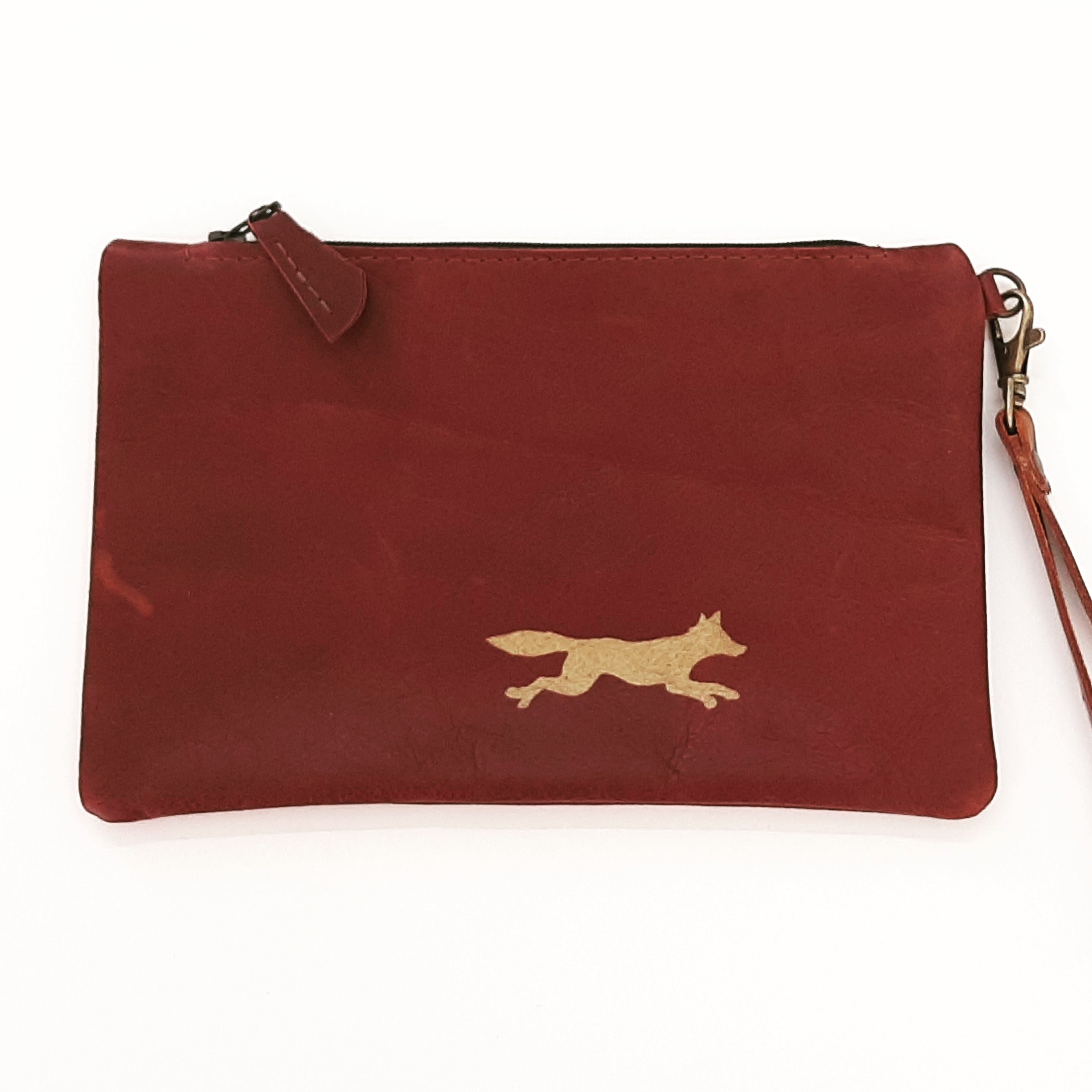Fox & Hound Leather Purse - Coterie Leather Bags
