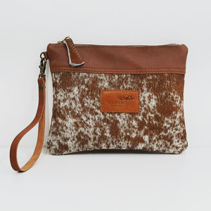 Cowhide Purse - Coterie Leather Bags