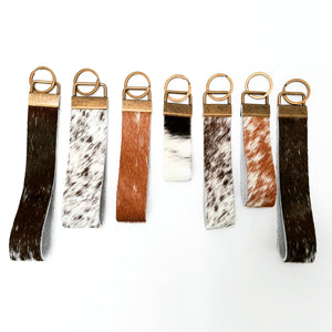 Cowhide Keyring - Coterie Leather Bags