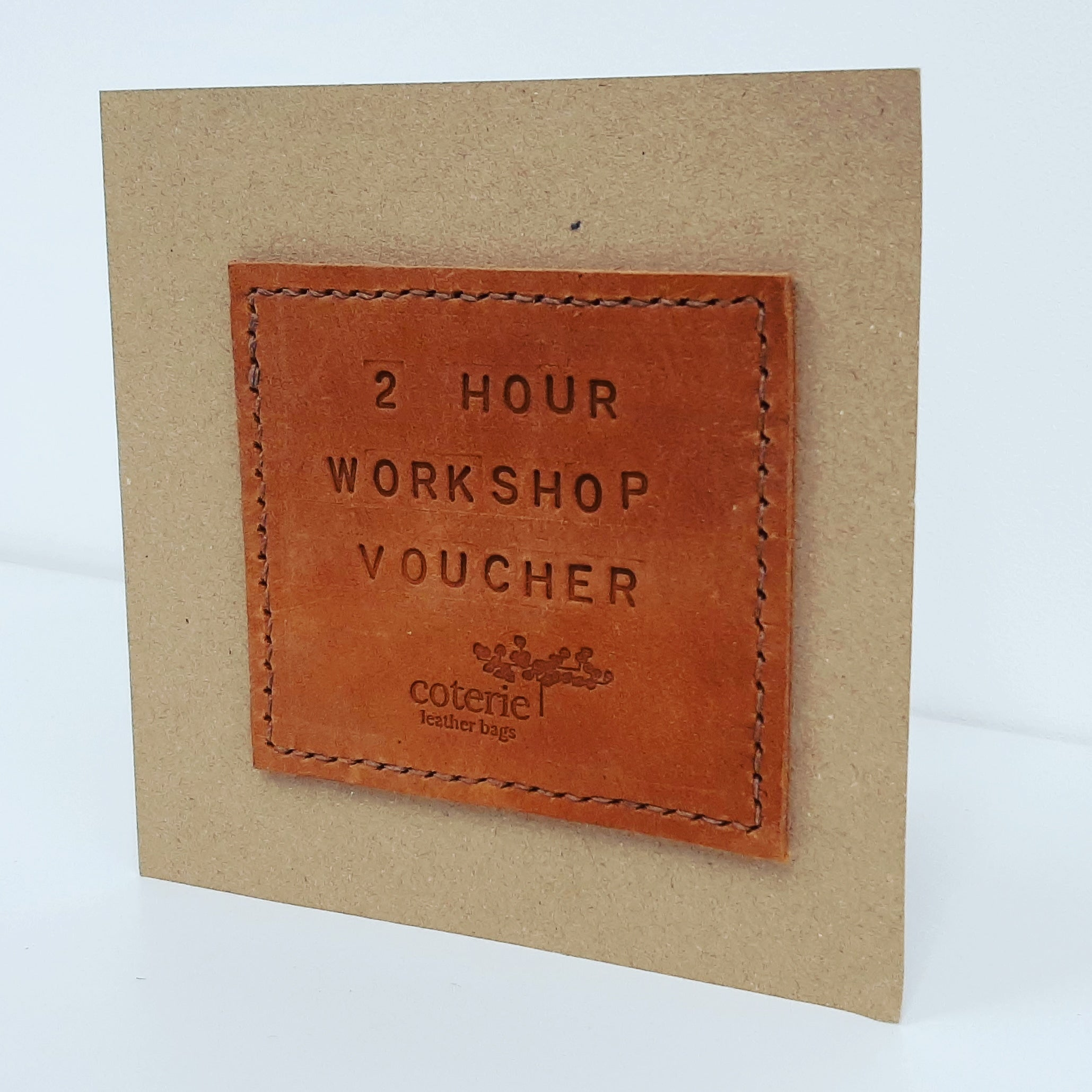 Workshop Gift Voucher - Coterie Leather Bags