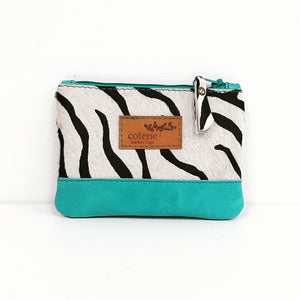 Safari Coin Purse - Zebra