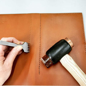 Personalised Leather Bound Journal Workshop - Coterie Leather Bags