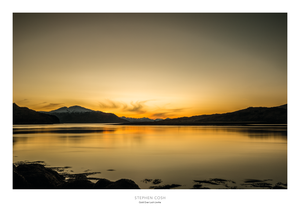 Gold Over Loch Linnhe