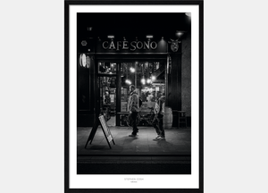 Cafe Sono Framed