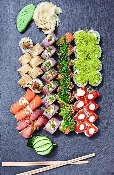 Cathrine Dufour Favourite Food Sushi