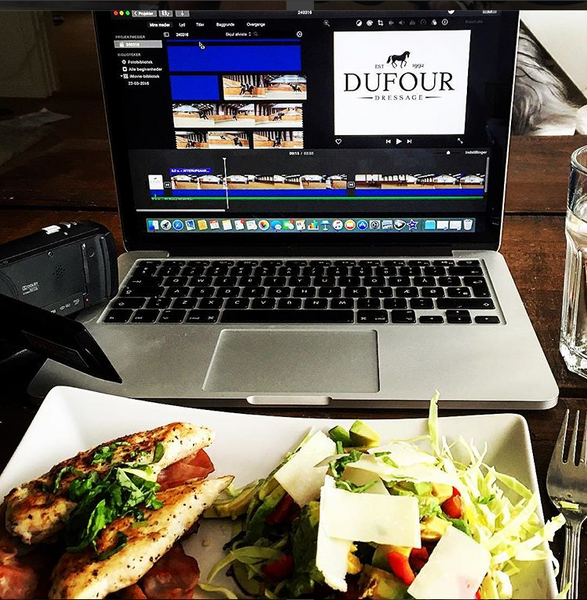 Cathrine Dufour Lunch Video Editing