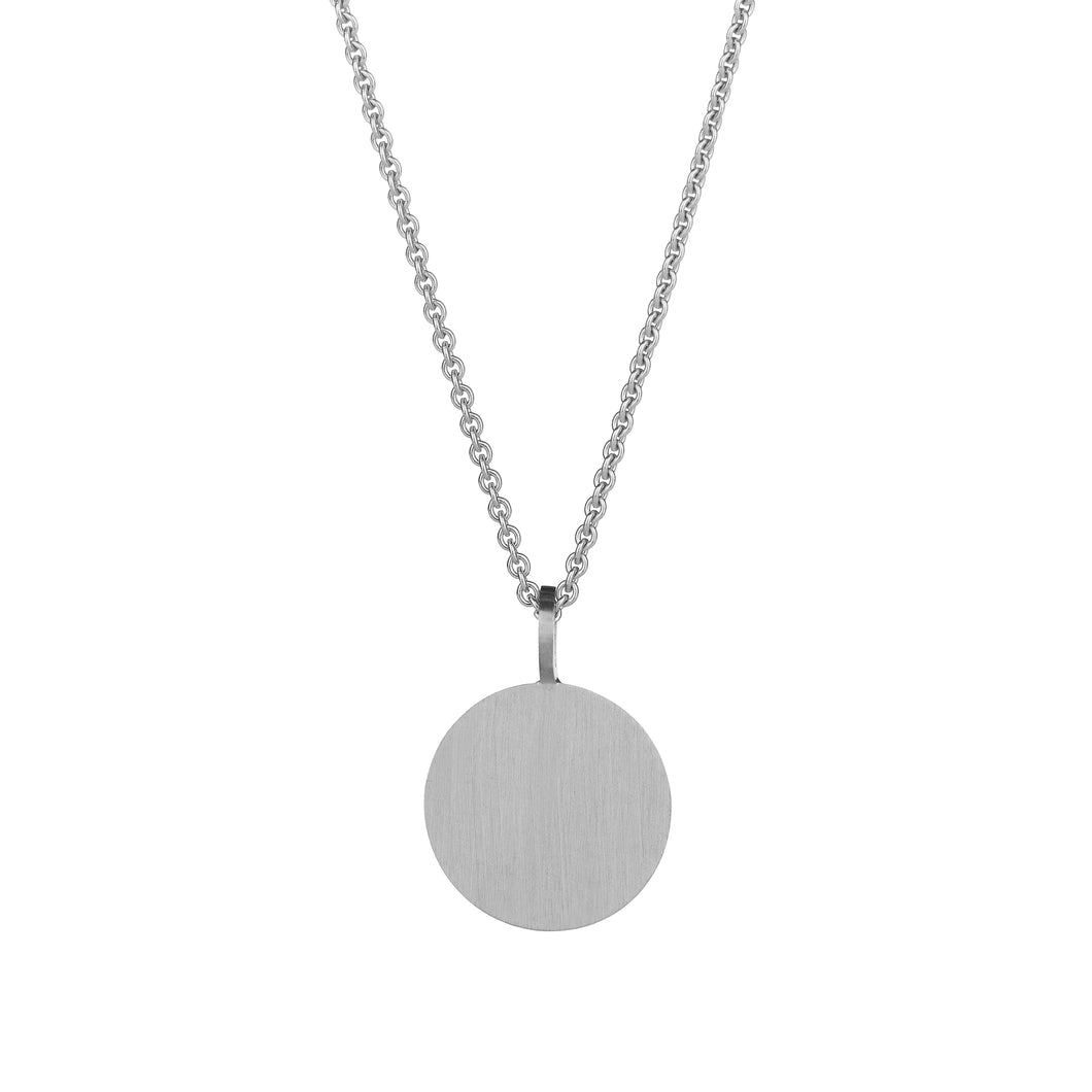 Cassidy Large Pendant Silver Classic Matte