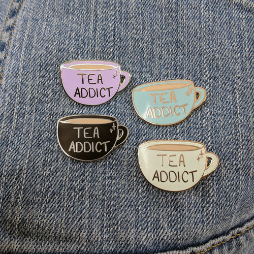 Tea Addict (Enamel Pin)