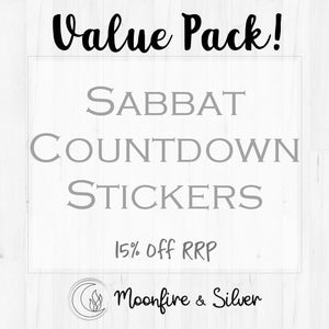 Sabbat Countdown Sticker (VALUE PACK)