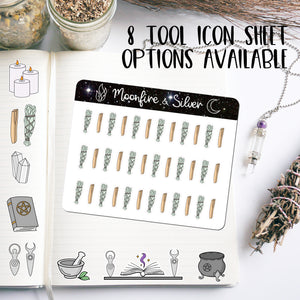 Tools - Wicca Icon Stickers