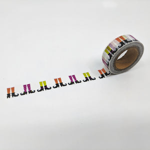 Witches Boots - Washi Tape Sample