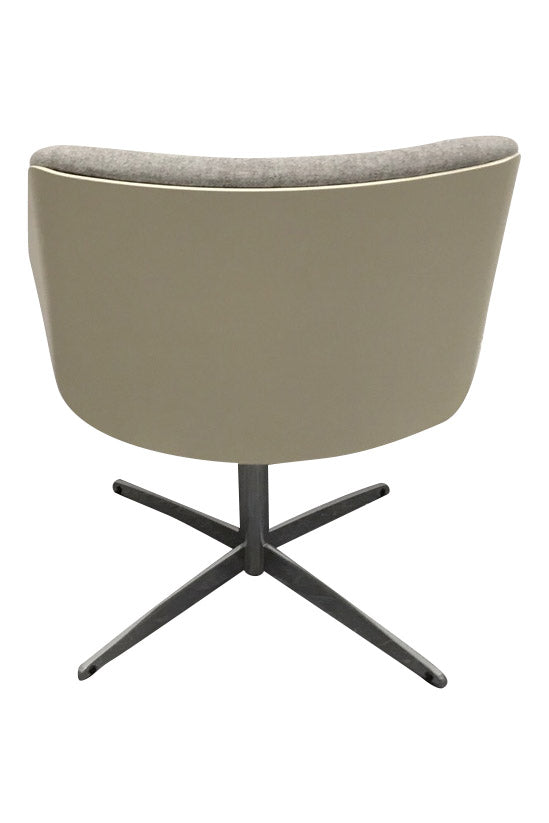 Perfect Elite Cascara Medium Back Moulded Shell Upholstered Swivel Chair