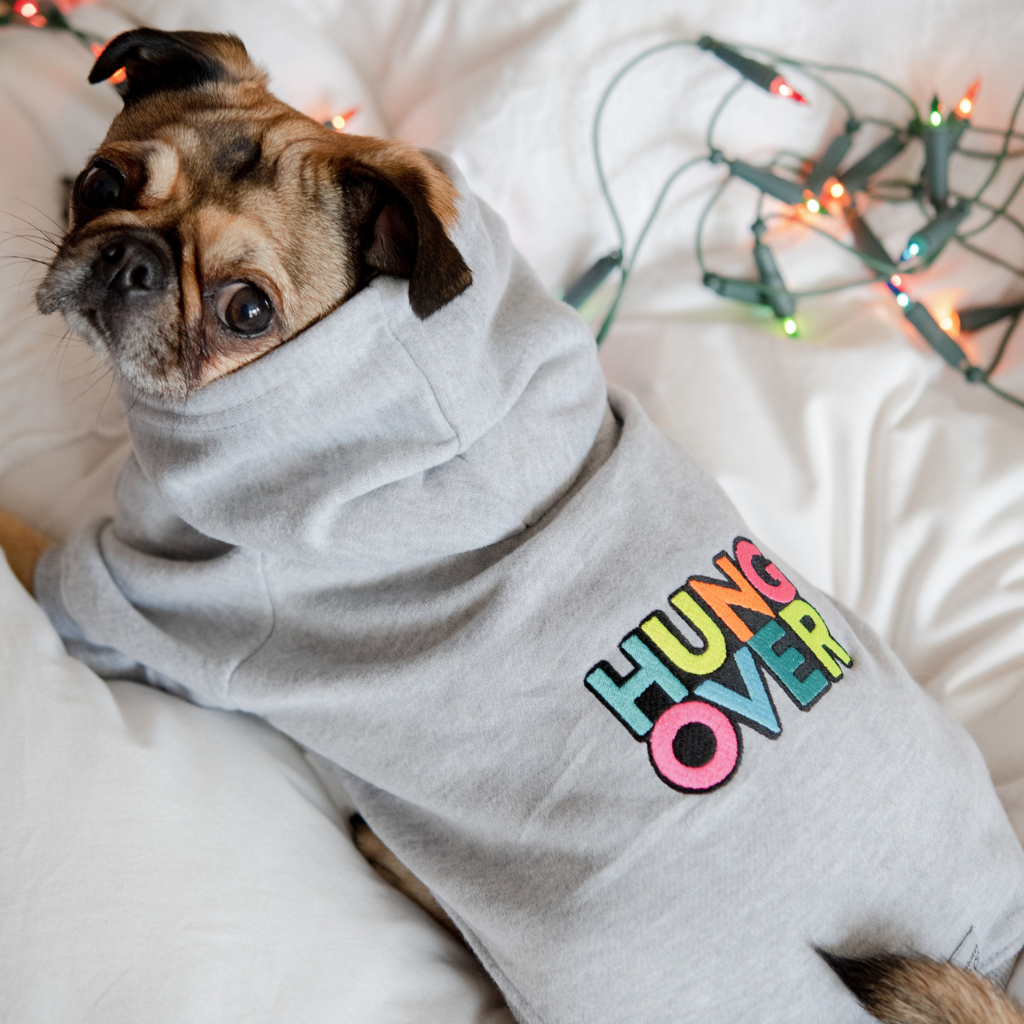 HUNGOVER Dog Christmas Sweatshirt