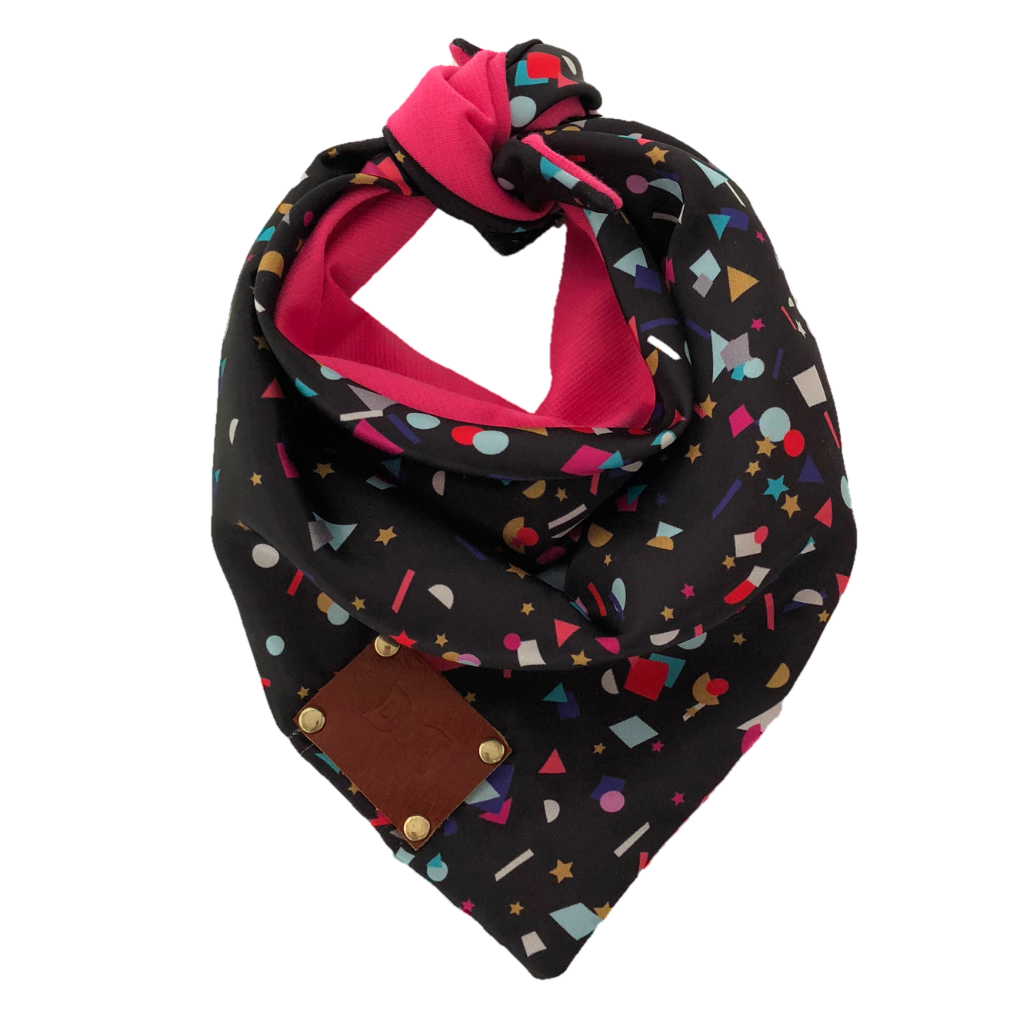 Confetti Party Dog Bandana Neckerchief