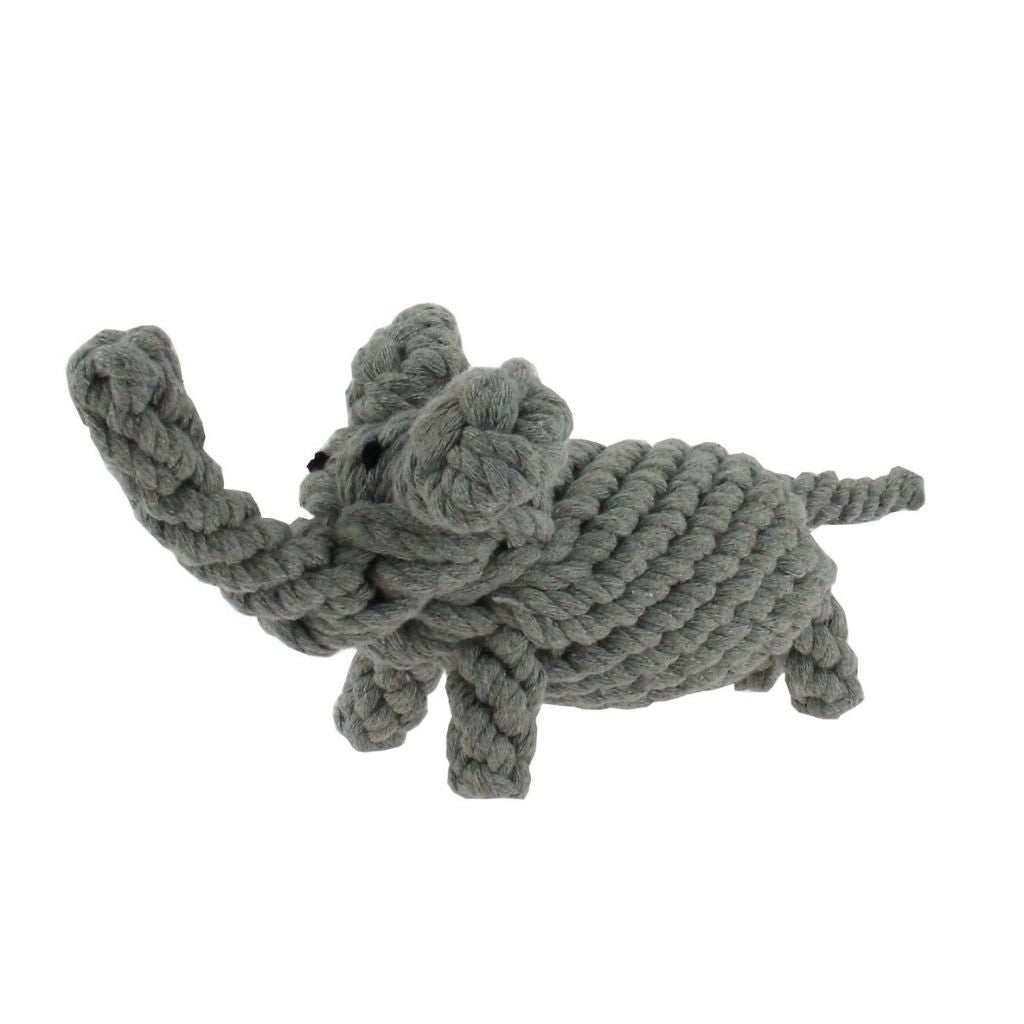 Elephant rope dog toy for chewing