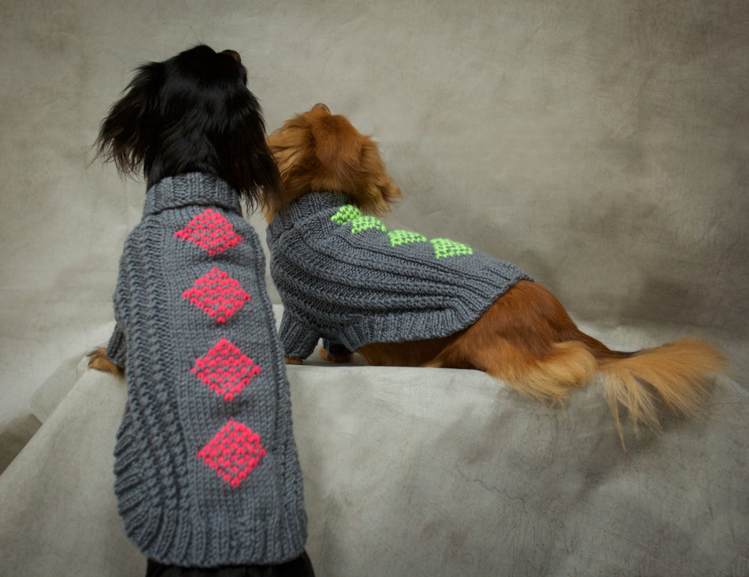 Buchanan Knitted Dog Jumper