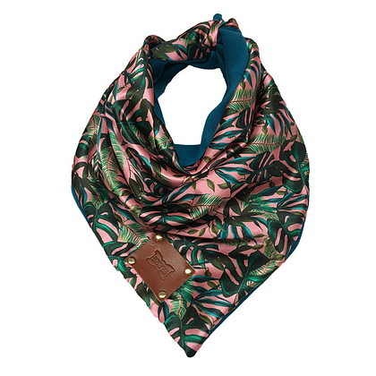 Palms & Cheese Dog Bandana Neckerchief