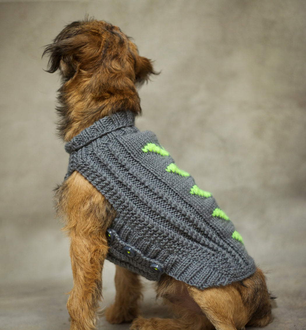 Shelby Knitted Dog Jumper
