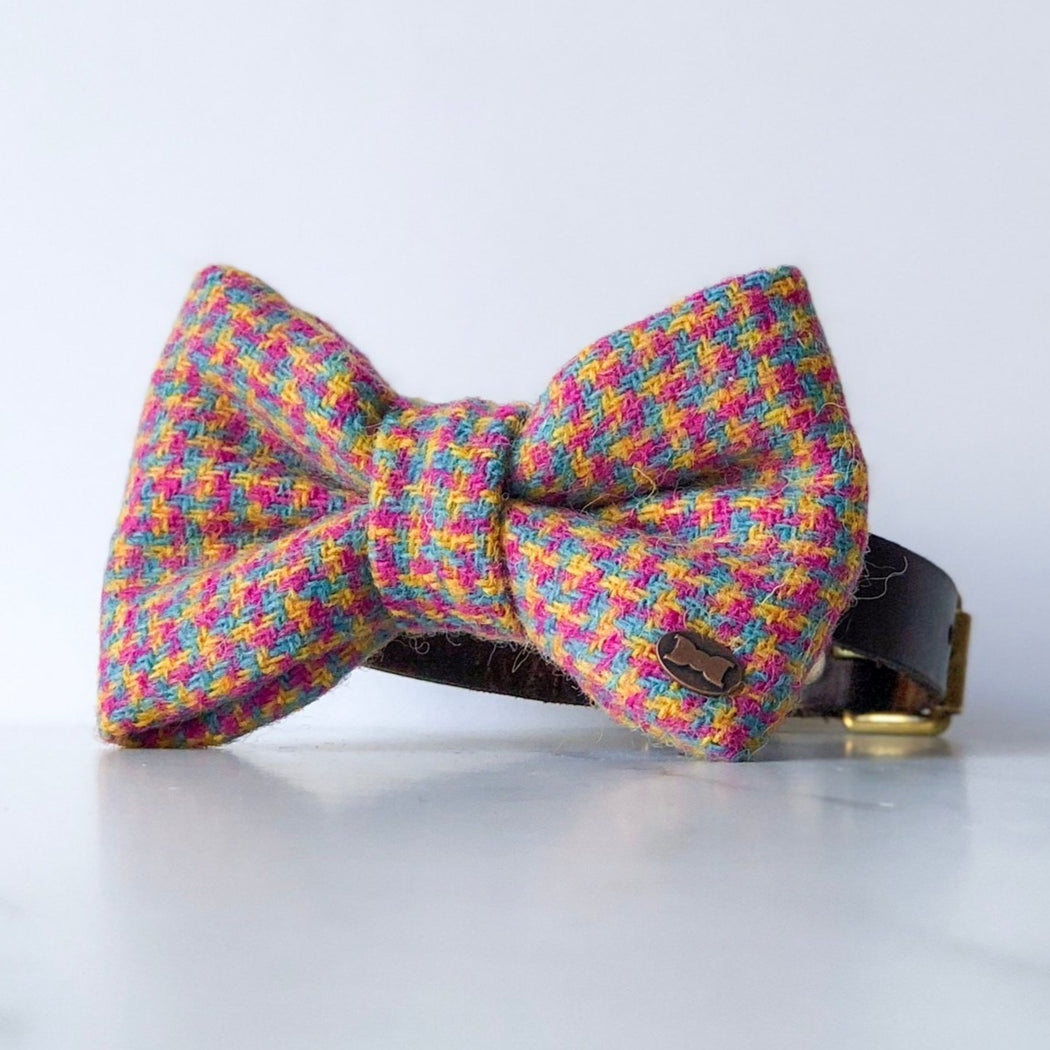 Tutti Frutti Harris Tweed Bow Tie