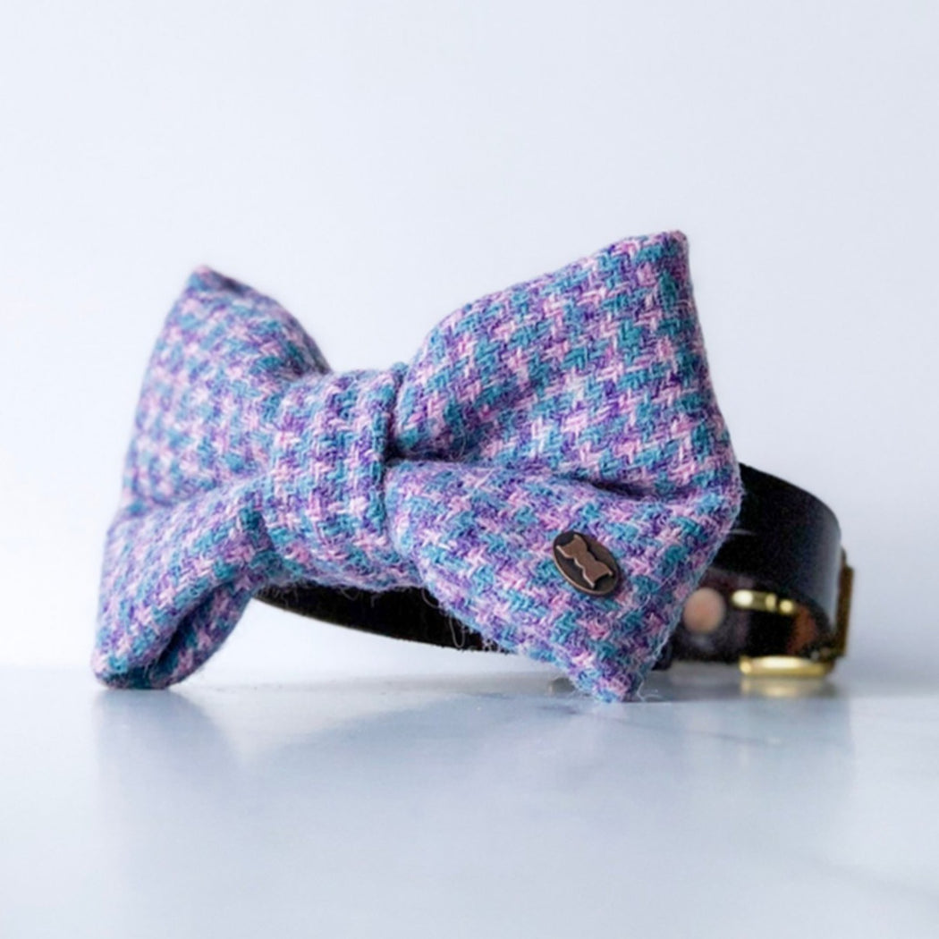 Violet Harris Tweed Bow Tie