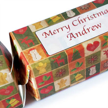Load image into Gallery viewer, Christmas Cracker Gift Box (Personalised) - Eco Friendly Flat Pack Design