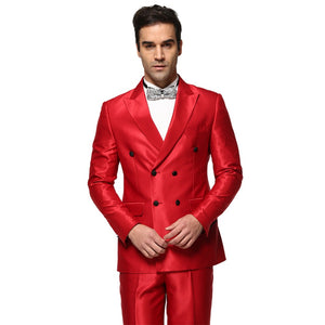 Attention Seeker - men's red tuxedo