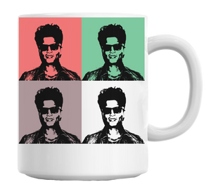 Warhol Pop Art Coffee Mug