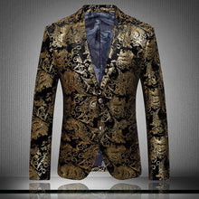 Golden Dragon Men's Blazer