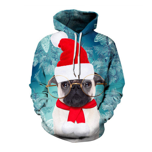 Intellectual Pug Ugly Christmas Sweater