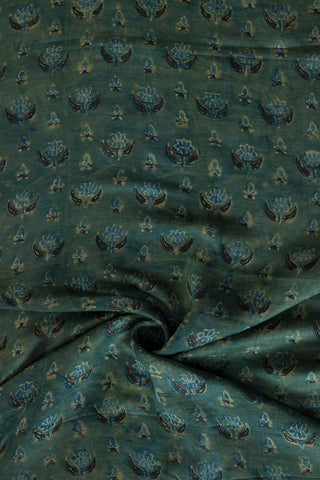 Muted Green Modal Silk Fabric