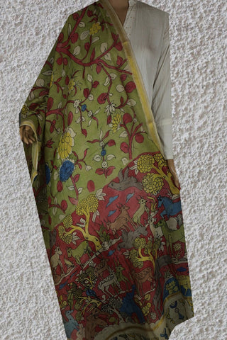 Silk Cotton Dupattas - Matkatus