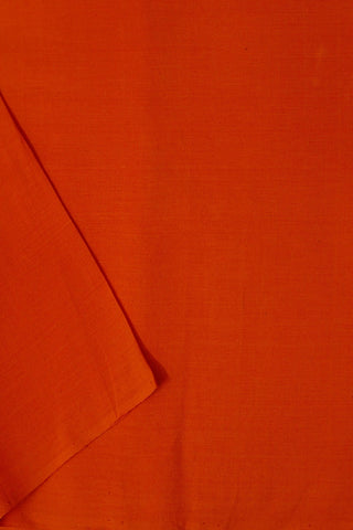 Bright Orange Yarn Dyed Cotton Fabric